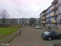 112 melding Brandweer naar Victoriestraat in Leeuwarden vanwege verkeersongeval