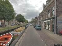 Traumahelikopter naar Brouwersvaart in Haarlem