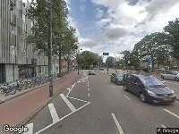 112 melding Brandweer naar Zijlsingel in Haarlem vanwege voertuigen te water
