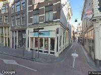 Ambulance naar Stormsteeg in Amsterdam