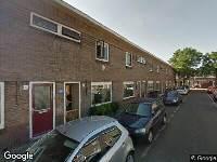 112 melding Ambulance naar Slamatstraat in Haarlem