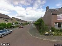 112 melding Besteld ambulance vervoer naar Jasmijnstraat in Numansdorp