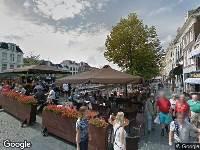 Brandweer naar Nieuwestad in Leeuwarden vanwege verkeersongeval