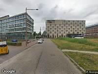 Ambulance en brandweer naar John M. Keynesplein in Amsterdam vanwege brand