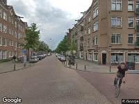 Ambulance naar Madurastraat in Amsterdam