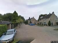 112 melding Ambulance naar Den Del in Udenhout