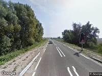 Brandweer naar Herbert H. Dowweg in Hoek vanwege verkeersongeval