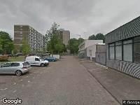 Ambulance naar Schulpplein in Rotterdam