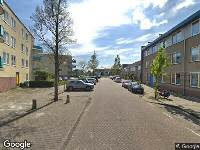 112 melding Brandweer naar Ponserstraat in Amsterdam vanwege verkeersongeval
