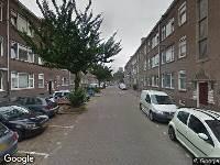 112 melding Brandweer naar Korhaanstraat in Rotterdam vanwege waarnemen gaslucht