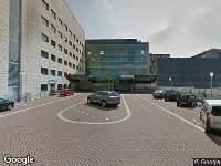 Ambulance naar Geert Grooteplein Zuid in Nijmegen