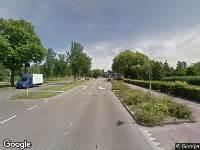 Politie naar Westlandseweg in Vlaardingen