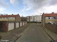 112 melding Brandweer naar Valeriaanhof in Tilburg