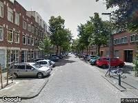 Ambulance naar Clemensstraat in Rotterdam