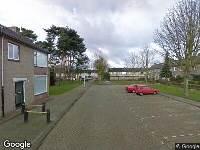 112 melding Brandweer naar Ganzerikhof in Tilburg