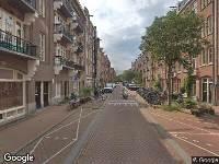 112 melding Ambulance naar Balistraat in Amsterdam