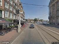 Ambulance naar Martelaarsgracht in Amsterdam