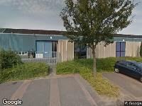 112 melding Brandweer naar Industrieweg in Papendrecht