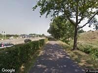 Politie naar Van Boetzelaerlaan in Hoogland vanwege aanrijding met letsel
