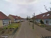Ambulance naar Fazantstraat in Wieringerwerf