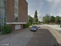 Ambulance naar Prof. Rutgersstraat in Vlaardingen