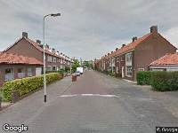 Ambulance naar Smaragdstraat in Breda