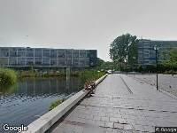 112 melding Brandweer naar Admiraalsplein in Dordrecht vanwege waarnemen gaslucht
