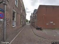 112 melding Besteld ambulance vervoer naar Zakstraat in Haarlem