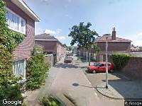 112 melding Brandweer naar Ratinéstraat in Tilburg vanwege schoorsteenbrand