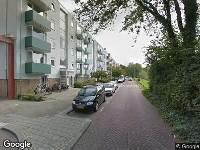 112 melding Brandweer naar Schonauwensingel in Utrecht