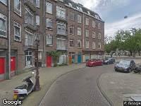 Ambulance naar Majubastraat in Amsterdam