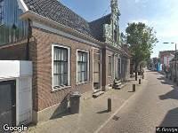 112 melding Brandweer naar Noorderhoofdstraat in Krommenie vanwege brand