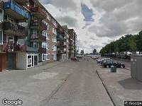 Ambulance naar Slamatstraat in Rotterdam