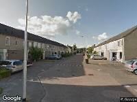 112 melding Brandweer naar Grevenbichtstraat in Tilburg vanwege reanimatie