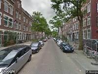 Ambulance naar Robert Fruinstraat in Rotterdam