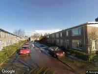Brandweer naar Grote Wielenstraat in Leeuwarden vanwege verkeersongeval