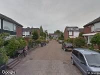 112 melding Ambulance naar Tollensstraat in Papendrecht