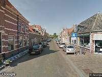Ambulance naar Nieuwstraat in Enkhuizen