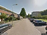 Brandweer naar Henriette Ronnerstraat in Tilburg