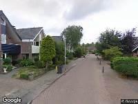 Brandweer naar Pieter de Hooghlaan in Oud-Beijerland vanwege een buitenbrand