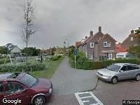Ambulance naar Tollensstraat in Zandvoort vanwege verkeersongeval