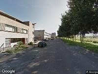 112 melding Brandweer naar Renesselaan in Tilburg
