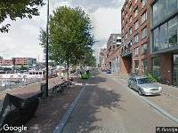 Ambulance naar Westerdok in Amsterdam