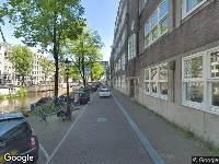 112 melding Ambulance naar Nieuwe Achtergracht in Amsterdam