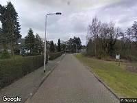 112 melding Brandweer naar Top Naeffdreef in Tilburg
