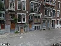Ambulance naar Heemraadssingel in Rotterdam