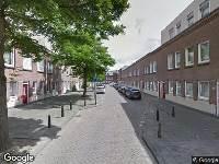 112 melding Ambulance naar Quintstraat in Rotterdam