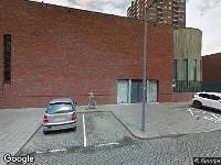 Ambulance naar G.B. Shawplaats in Rotterdam
