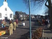 112 melding Ambulance naar Dorpsplein in Terheijden