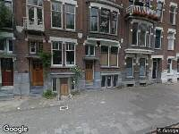 112 melding Ambulance naar Heemraadssingel in Rotterdam